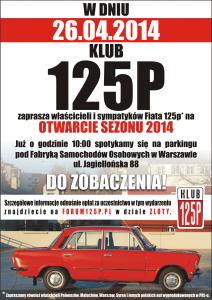 plakat otwarcie 2014